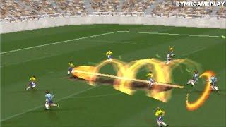 Super Shot Soccer  Brasil vs Argentina  (Fútbol con Poderes )