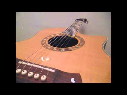 Tuning Video. Standard Guitar Tuning with Capo on 6th fret (A#, D#, G#, C#, F, A#)