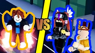 TWO LVL 200 ARSENAL PLAYERS vs BACON HAIR | Roblox Jailbreak