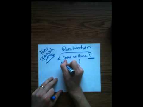 Punctuation In Spanish