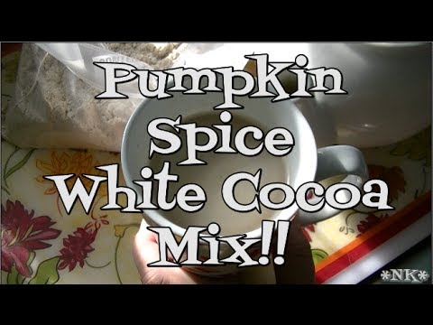 Pumpkin Spice White Hot Cocoa Mix!! Noreen's Kitchen
