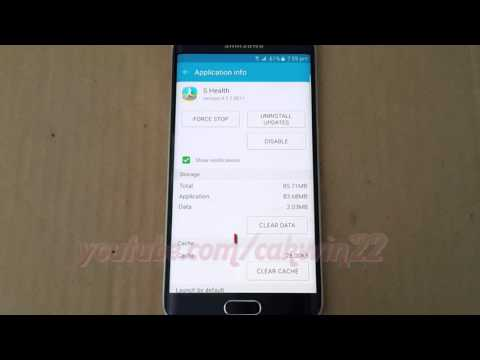 Android : How to clear cache and data in Samsung Galaxy S6 and S6 Edge