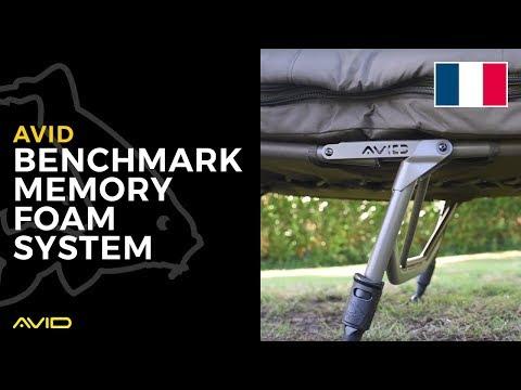 Avid Carp France- Benchmark Memory Foam System- Benoit David