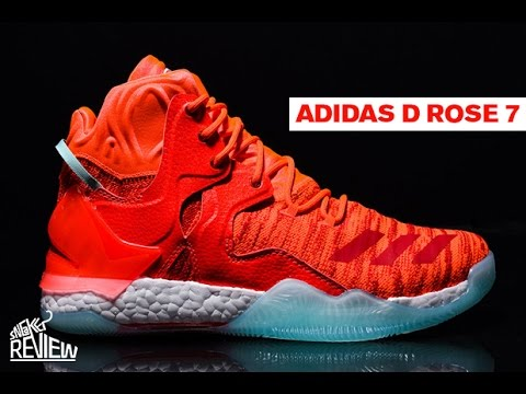 7b87e7c40ff1 Adidas D Rose 7 Sneaker Review - YouTube
