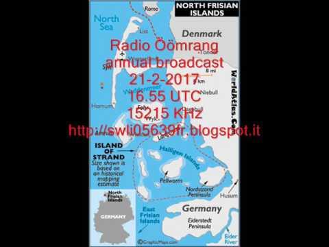 Radio Öömrang annual broadcast 21-2-2017  15215 KHz