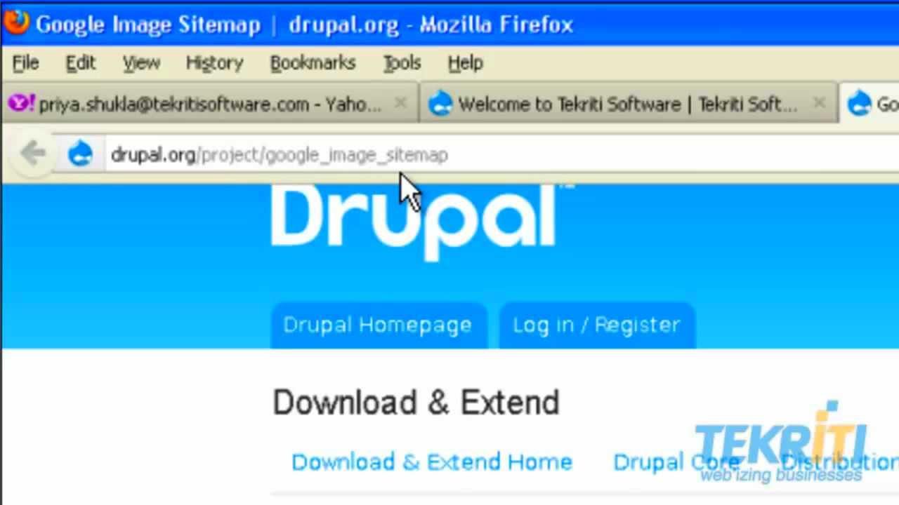 google image sitemap for a drupal website youtube