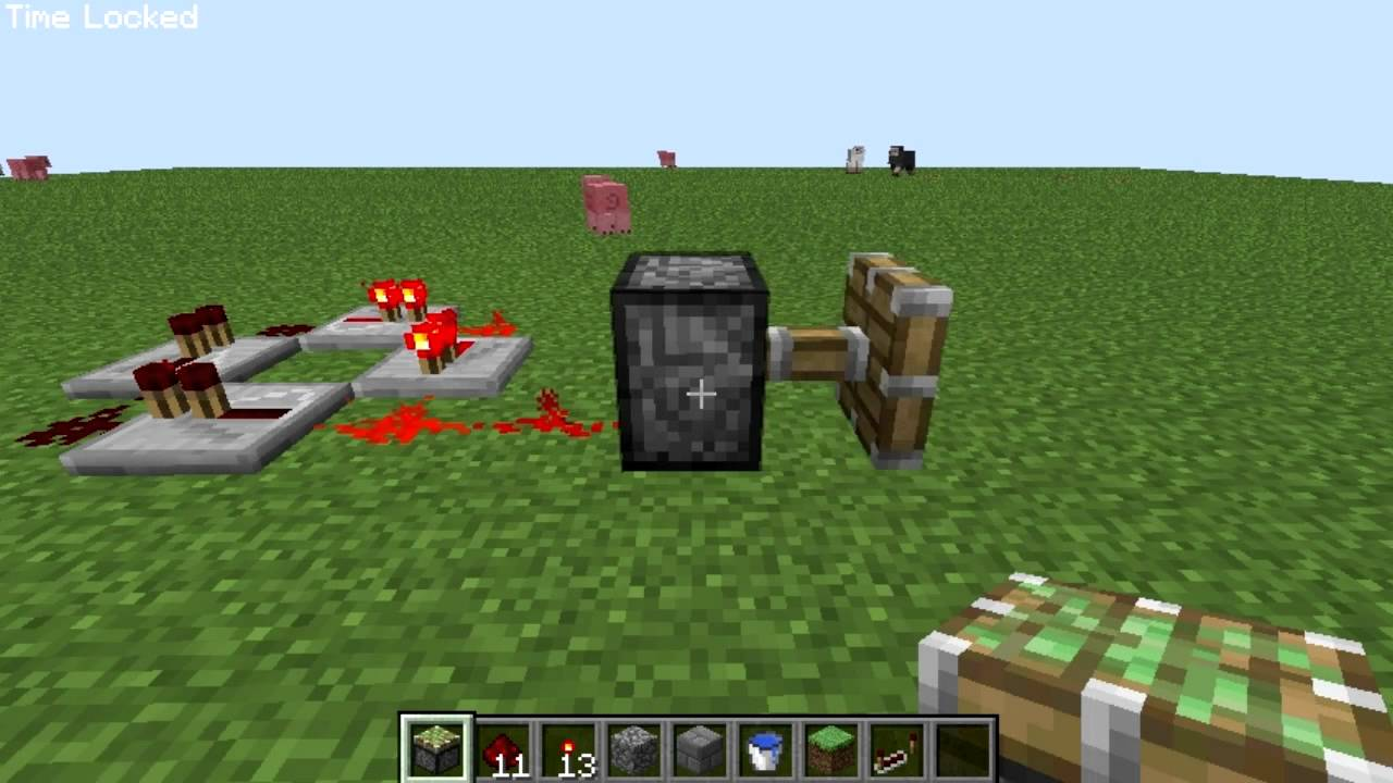 Redstone Timer Clock Minecraft Project How To Make A In Youtube 1280x720