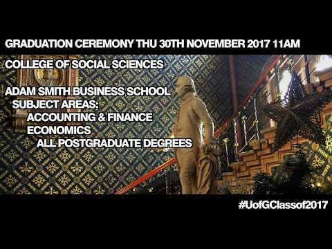 Winter Graduations College of Social Sciences Thursday 30th 11am