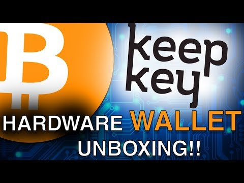 KeepKey: Unboxing and Review!! - The Bitcoin Wallet of The Future