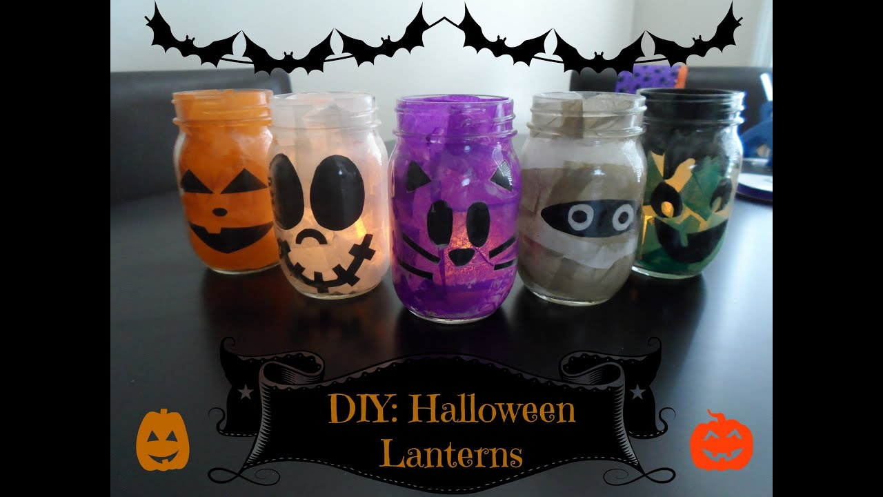 diy halloween lanterns - How To Make Halloween Lanterns