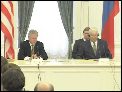 The Presidential News Conference with President Yeltsin (1998)