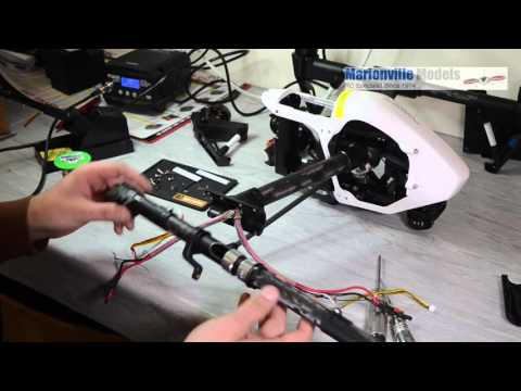 How to Replace and Repair DJI Inspire Arm Boom.