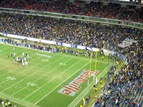 Vanderbilts Game Winning Field Goal at 2008 Music City Bowl