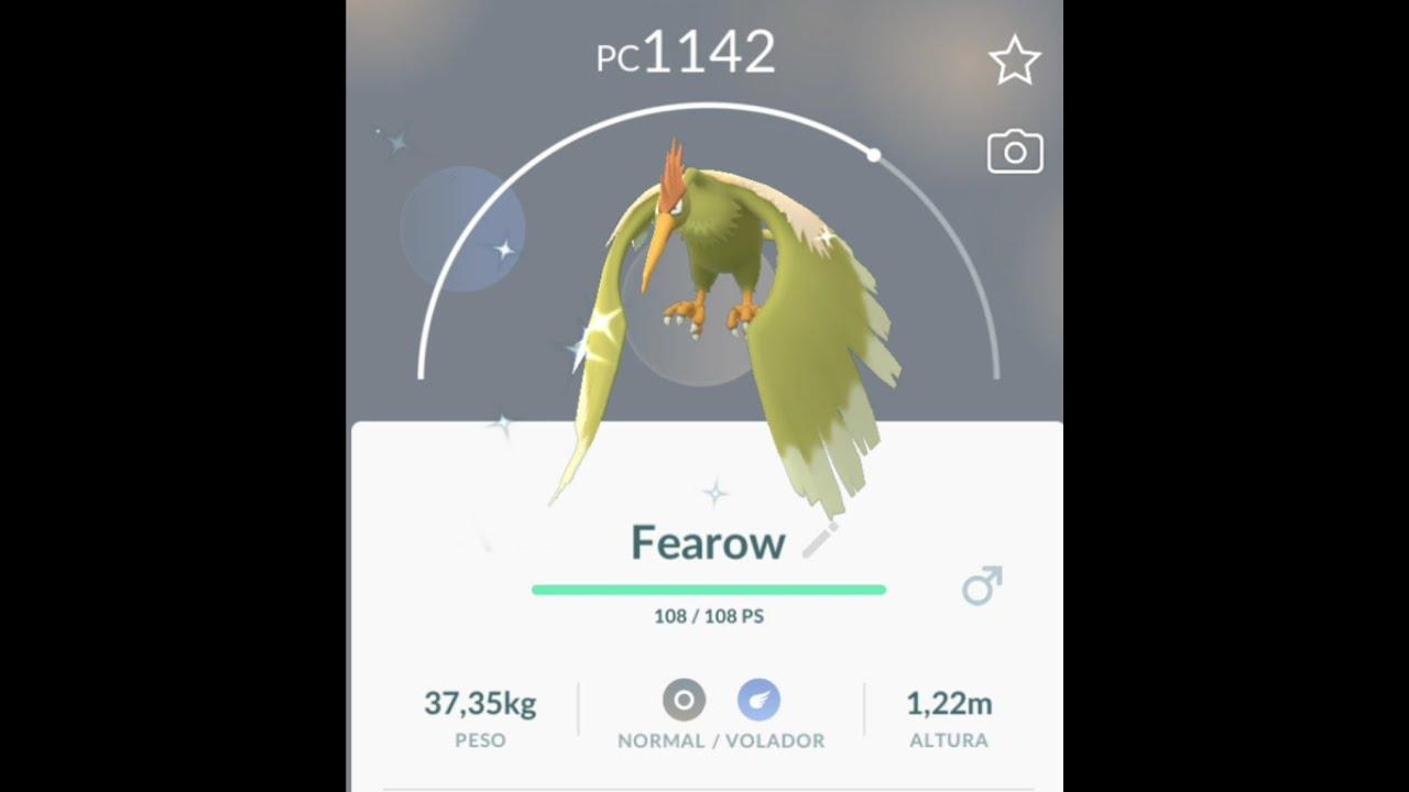 Shiny Spearow Pokemon Go