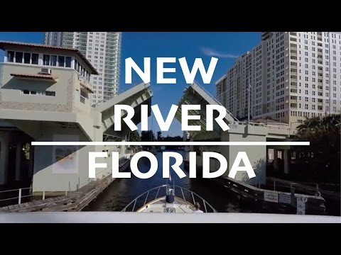 New River, Fort Lauderdale Outbound to the ICW Time Lapse