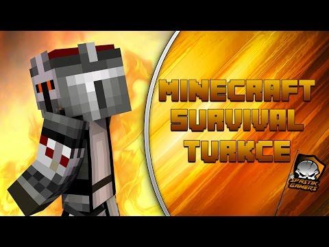 KÖY BULDUM  / Minecraft Türkçe Survival - Bölüm 10