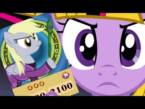 Yugioh Re-enacted by Ponies