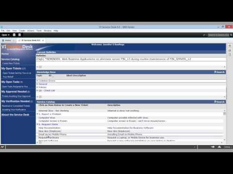 VI Service Desk - An IT Help Desk for the IBM Notes/Domino® Platform