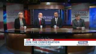 ABC7 Town Hall - Fight for Freedom with Ahmadiyya Muslim Community rep Faheem Younus