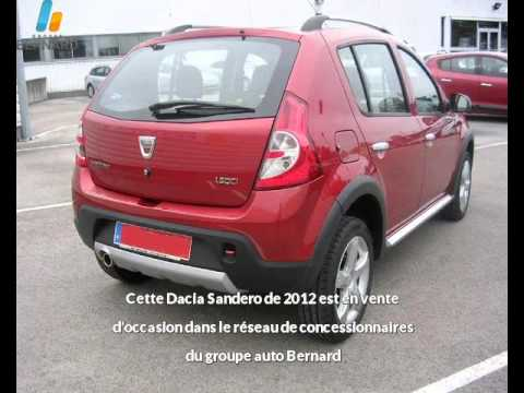 dacia sandero occasion en vente besan on 25 par renault besancon youtube. Black Bedroom Furniture Sets. Home Design Ideas