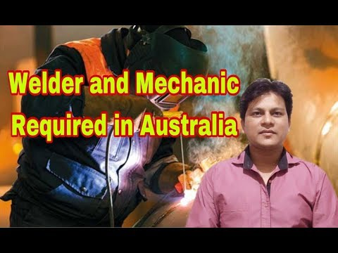 Welder And Mechanic Required In Australia