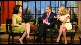 carla gugino on live with regis and kelly 2009 03 04