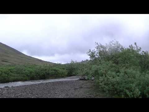 Nome prospecting dredge area