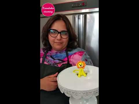 3d-fondant-lion-cake-topper-for-cake-decorating-tutorial-video