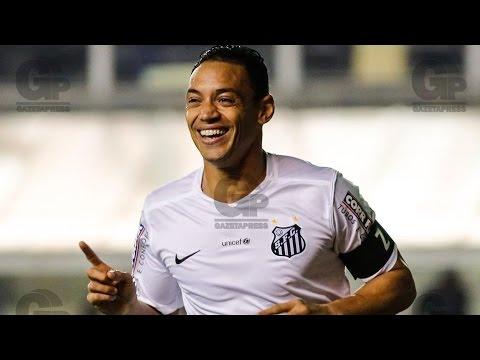 Santos 3 x 0 São Paulo | GOLS | Brasileirão (09/09/15)