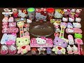 Special Series #PINK Hello Kitty Slime || Mixing Too Many Things Into Slime || Most Satisfying Slime