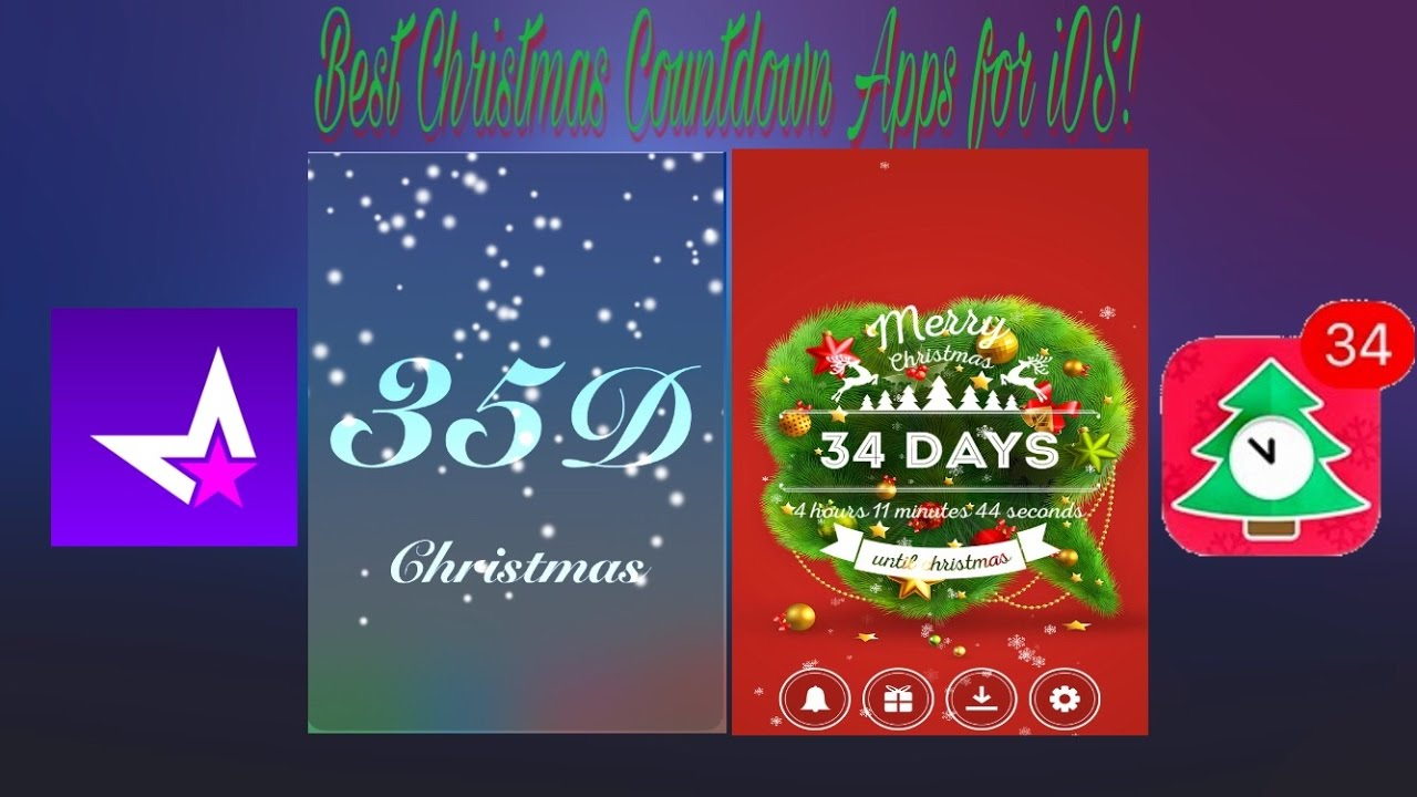 Christmas Countdown Widget.Best Christmas Countdown Apps With Widgets And Music For Ios Iphone Ipod Ipad Apps Of The Week