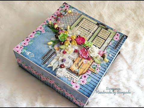 Handmade Love Scrapbook   Best handmade Scrapbook   Love/Anniversary theme album