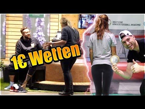 1€ WETTEN auf der Technik MESSE in Stuttgart 😂😱