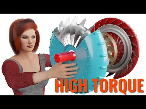 Torque Converter, How does it work ?