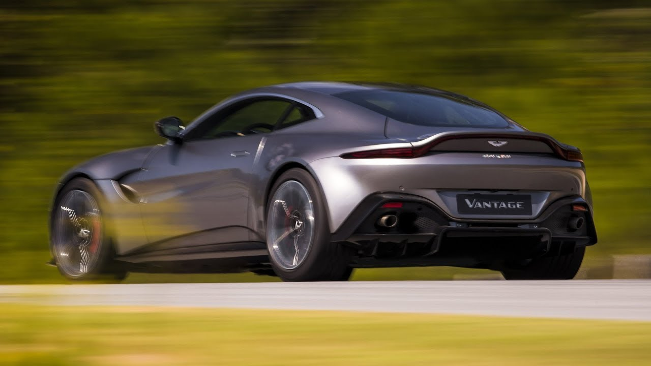 2018 Aston Martin Vantage Official Photos Tungsten Silver Youtube