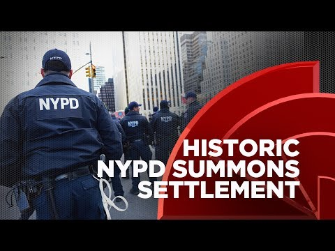 NYPD Forced To Pay $75M To Settle Lawsuit Over Summons Quotas