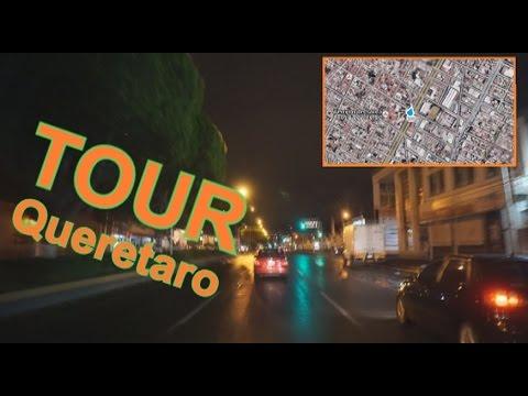 A tour through the Center of Queretaro City