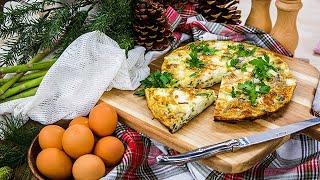 Mushroom and Asparagus Frittata - Home & Family