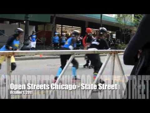 Open Streets Chicago : Downtown State Street