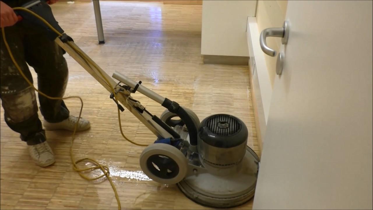 parkett oberfl che reinigen bona power scrubber youtube. Black Bedroom Furniture Sets. Home Design Ideas
