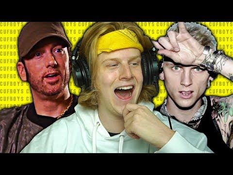 "UH OH! Machine Gun Kelly ""Rap Devil"" (Eminem Diss) REACTION!"