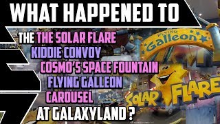 What happened to the Solar Flare, Jumping Fountains, and more at Galaxyland? - Best Edmonton Mall