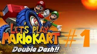 Let's play Mario Kart: Double Dash part 1