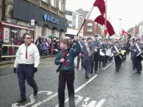 ST GEORGES DAY PARADE MORLEY 2012 KIKI