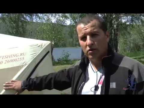 Обзор уникальных летних быстросборных палаток Снегирь.