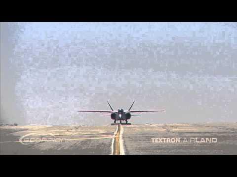 Scorpion Jet Straight On Video Shot