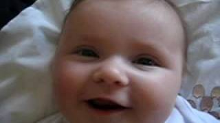 Our 2 month old daughter loves Tula Rula Rula (as sung in Housesitter by Steve Martin)!!