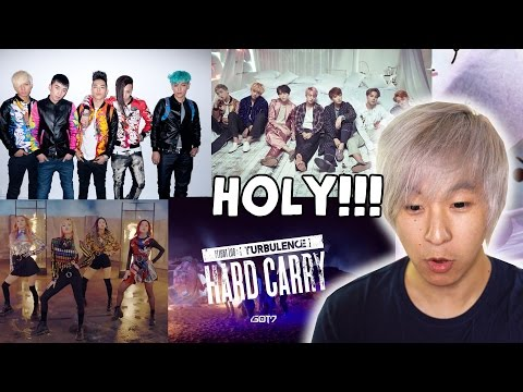 Reacting to KPOP!!! (BTS, GOT7, BlACKPINK, BIGBANG) Highly Requested!