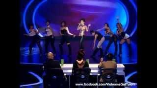 [Bán Kết 1] Khách mời Thu Minh - Đường cong - Bay - Taxi - Vietnam's Got Talent
