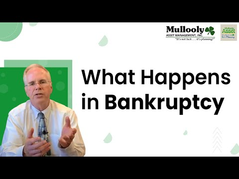 What Happens in Bankruptcy